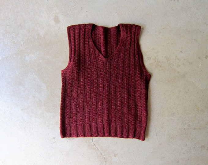 Hand Knit Sweater Top