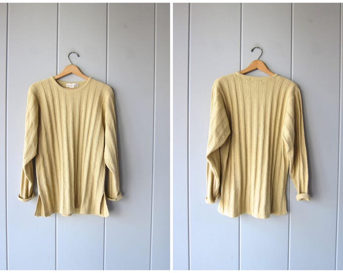 Ribbed Sweater - Large