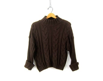Brown Sweaters Etsy