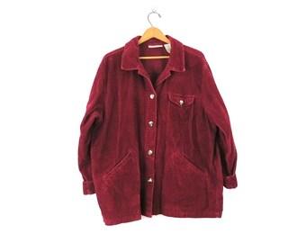 Vintage One Main Place Corduroy Jacket Size 910 D9