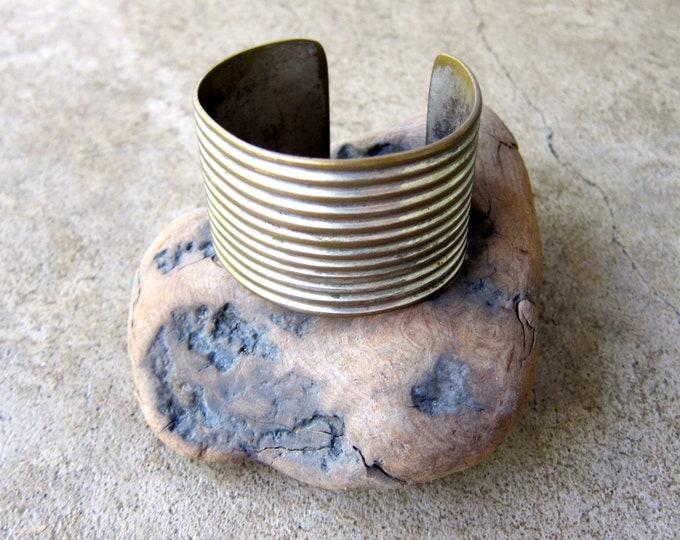 Wide Silver Cuff