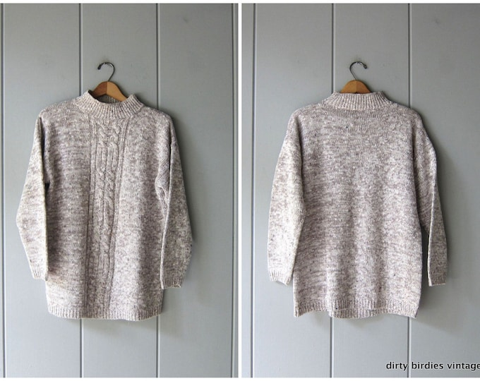 Speckled Sweater - Large