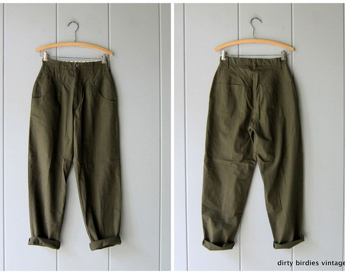 90s Army Green Pants