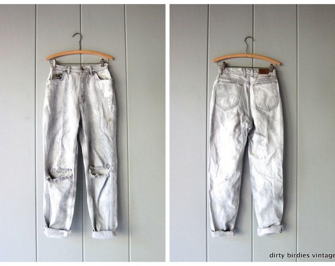 Distressed Lee Jeans