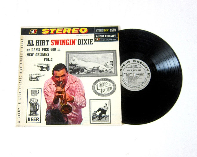 Al Hirt Swingin Dixie Vinyl Record Album 12 Inch LP Vintage Music Sterodisc Record Album