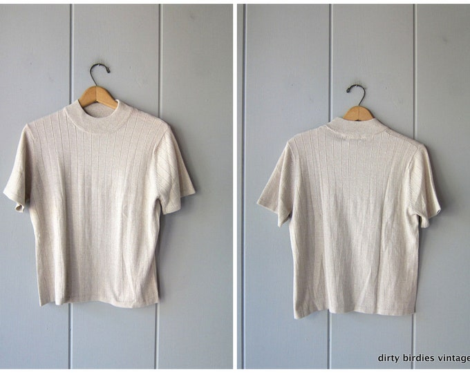 Knit Sweater Top - Small