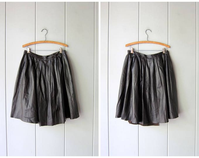 Neil Barrett Leather Skirt
