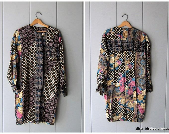 Floral Bohemian Dress - Large