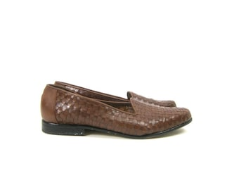 869241de5c725 90s leather loafers   Etsy