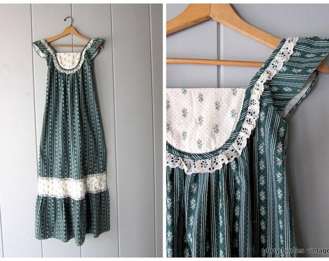 70s Prairie Dress - S/M