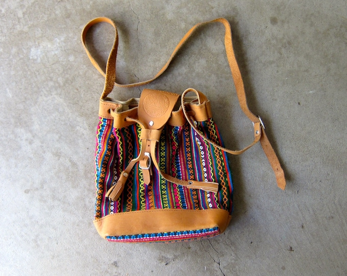 Southwestern Drawstring Bag