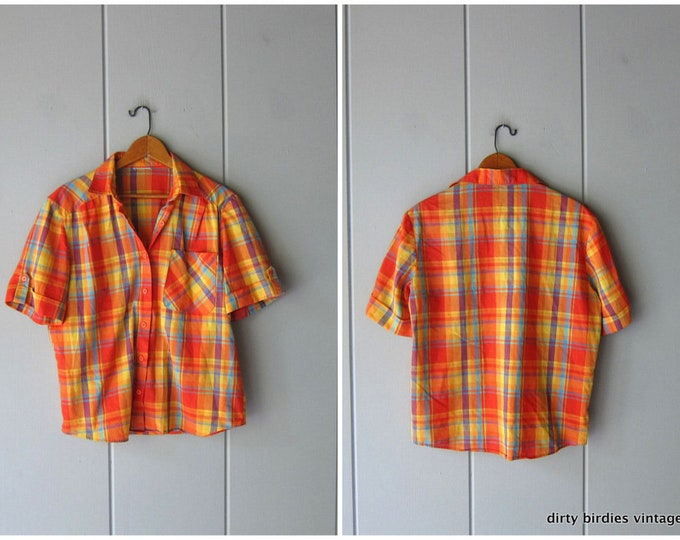 80s Plaid Shirt
