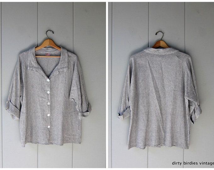 Woven Cotton Top - XL