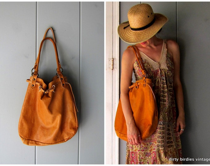 Large Leather Hobo Bag