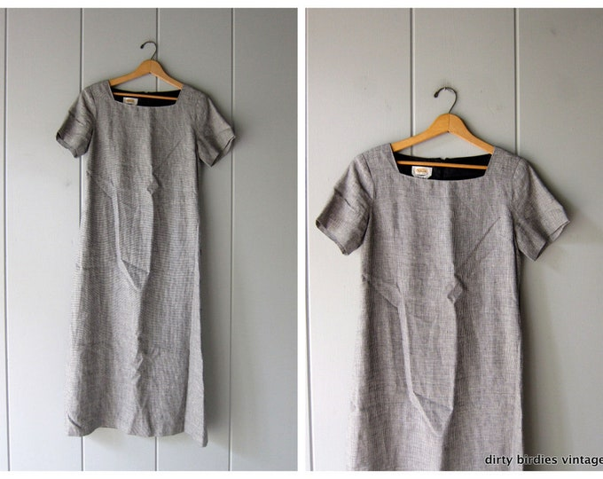 Irish Linen Dress 8 Medium