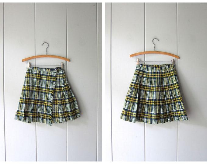 School Girl Plaid Skirt