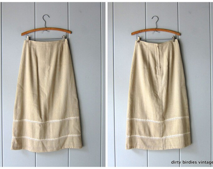 Woven Cotton Knit Skirt 8
