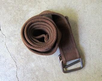 Leather army belt | Etsy
