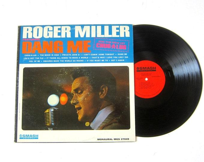 Roger Miller Dang Me Vinyl Record Album 12 Inch LP Vintage Smash Record Album