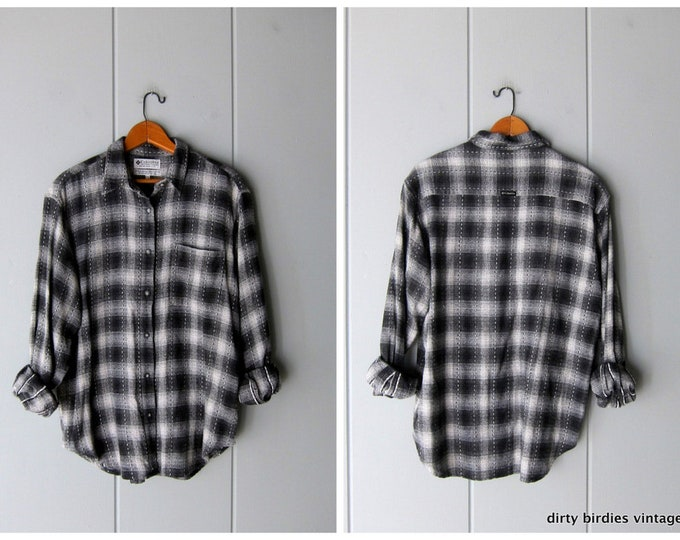 Plaid Flannel Shirt - Medium