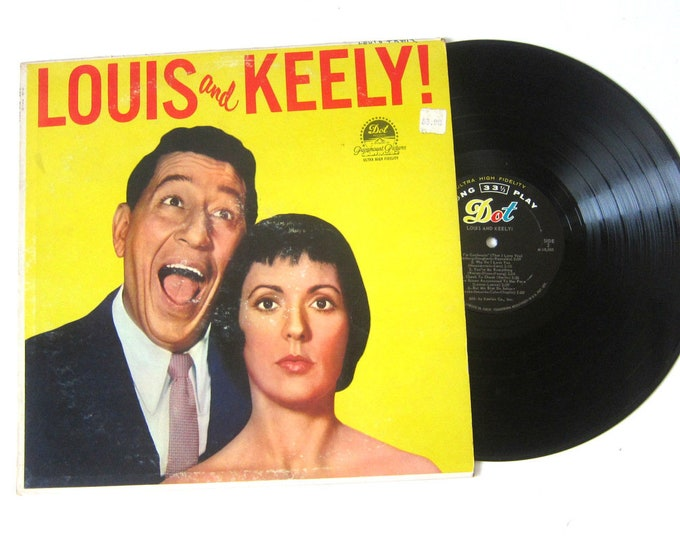 Louis and Keely Vinyl Record Album 12 Inch LP Vintage Music DOT Record Album