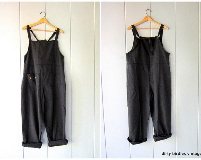 Black Bib Overalls Small/Medium