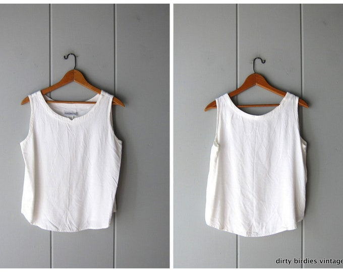 White Crop Top - Medium