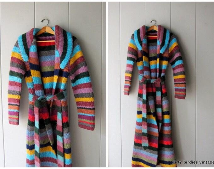 Rainbow Cardigan Sweater Coat XS/S