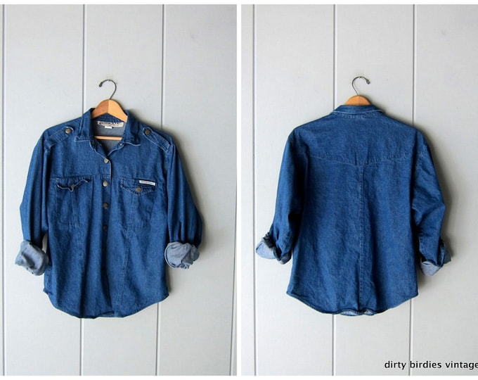 80s Jean Shirt