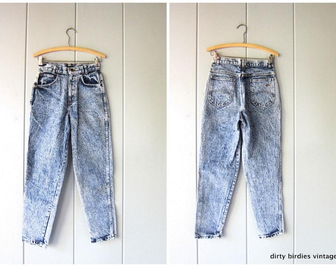 80s Acid Wash Jeans