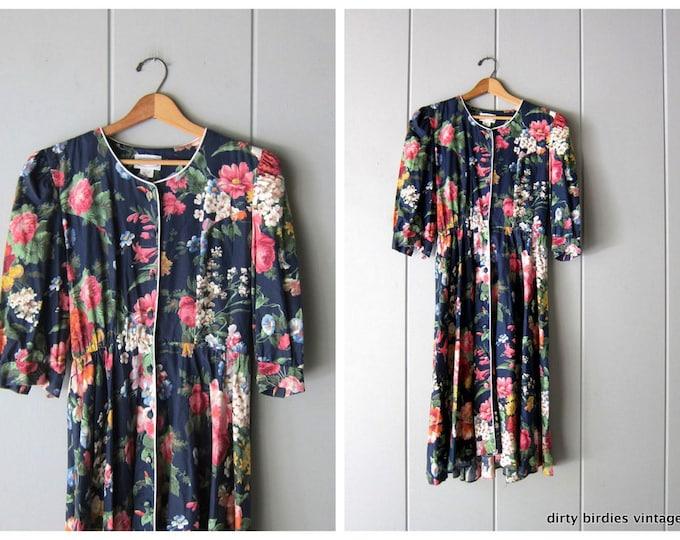 80s Lolita Dress - Small
