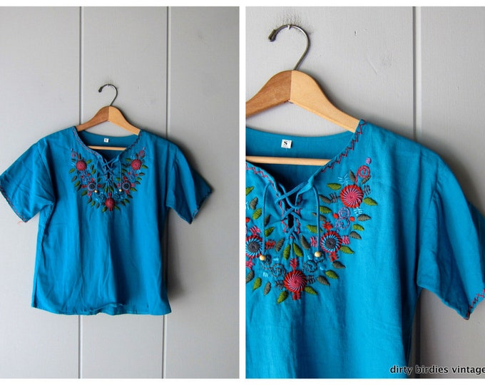 Embroidered Mexican Shirt