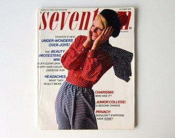 Vintage dutch seventeen magazine