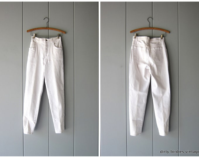 80s WHITE Jeans