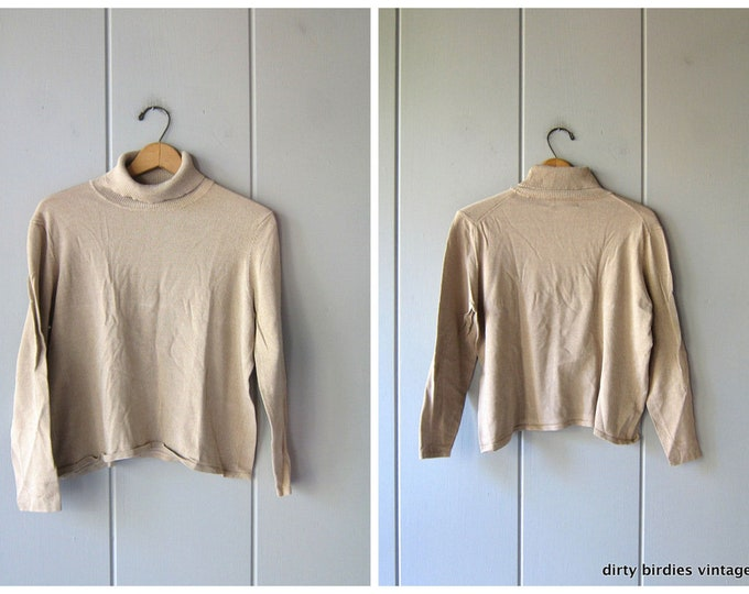 Silk Turtleneck Pull - XL