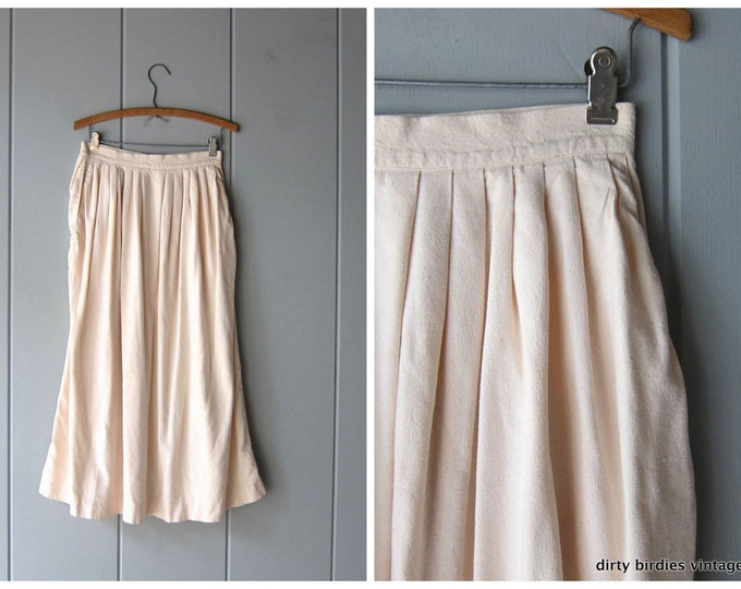 RAW SILK Skirt S/M