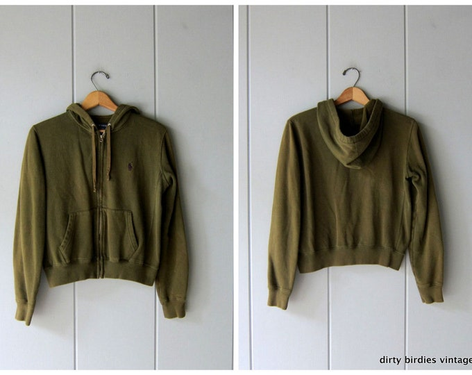 RL Green Olive Sweatshirt