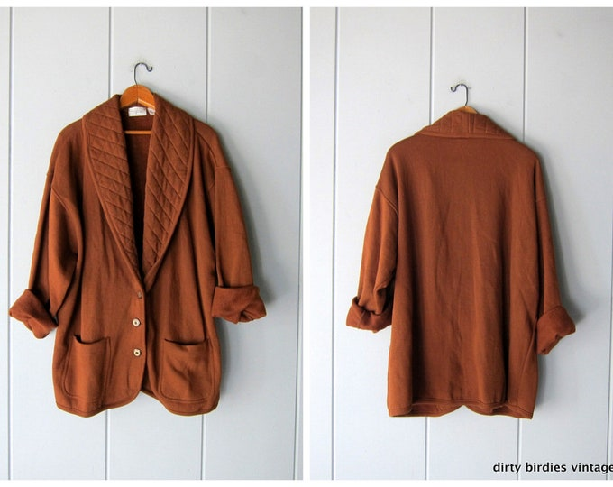 Rust Brown Cardigan