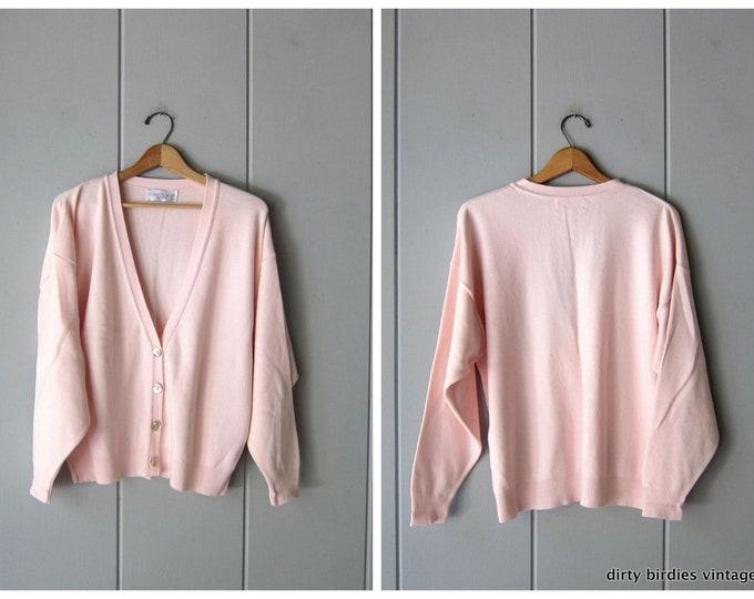 Baby Pink Cardigan - Medium