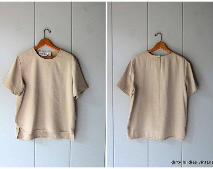 Minimal Silk Top