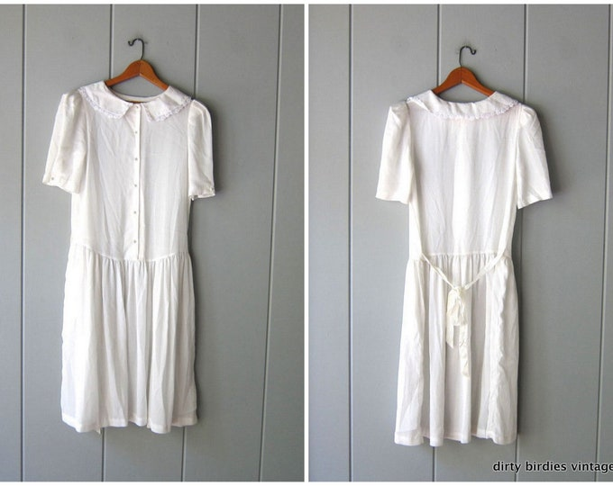 White Prairie Dress