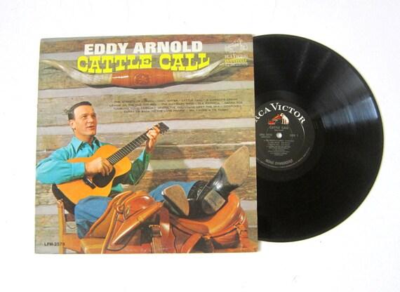 Eddy Arnold Cattle Call Vinyl Record Album 12 Inch Lp Vintage Etsy