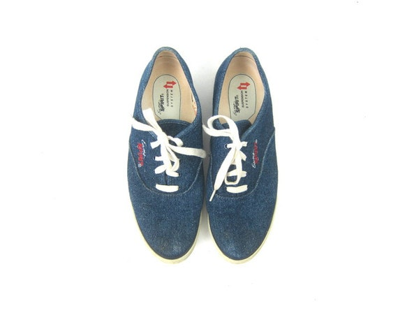 Vintage Denim Sneakers Blue jean tennis