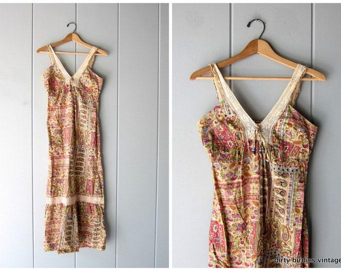 Boho Indian Summer Dress