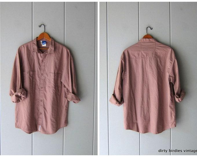 Cotton Safari Shirt - Large