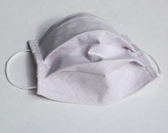 Lavender Weave Designer Cotton Fabric Face Mask Washable with Nosewire