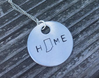 The Theodore Necklace - Indiana HOME Necklace, Key Chain or Bracelet
