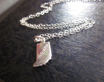 The Sara Necklace - Tiny Indiana Sterling Necklace