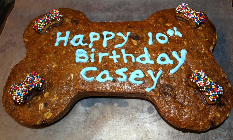 Birthday Dog Treats Happy Cookie Cake All Natural