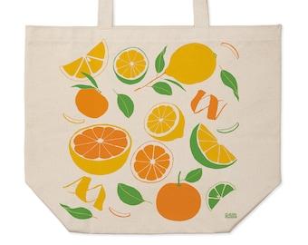 Citrus Market Tote